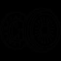 Clutch  and engine flywheel